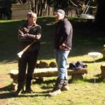Bernd und Dirk beim Fachgespräch I