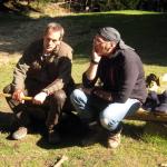 Bernd und Dirk beim Fachgespräch II