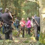 Karin im Wald
